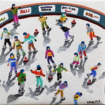 [A0258-0055] Skating(small)