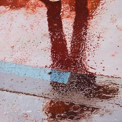 [A0267-0002] 붉게 물든 흐름