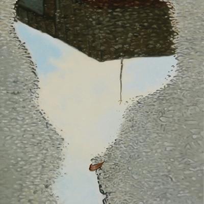 [A0267-0013] 오후, 잦아든 빗방울