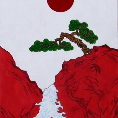 [A0268-0020] 빙폭타다(소나무)