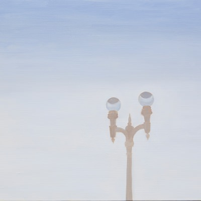 [A0275-0004] 낮의 가로등 A streetlight in the daytime