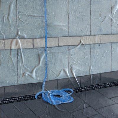 [A0276-0064] blue hose