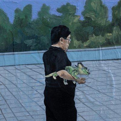[A0276-0075] 공룡아저씨