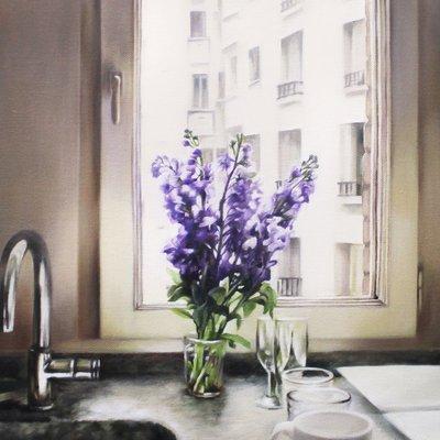 [A0284-0038] 파리의 아침