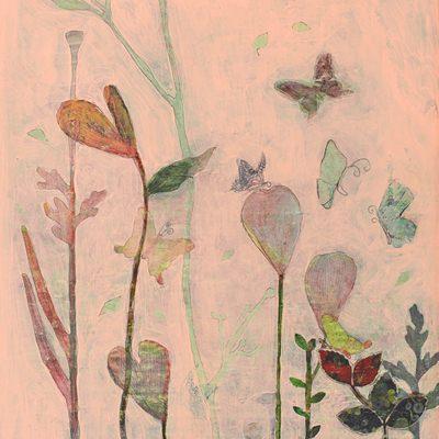 [A0285-0028] 꽃과나비
