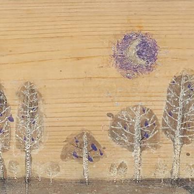 [A0285-0035] 달비내리는숲