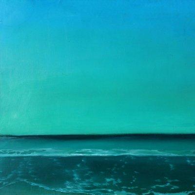 [A0291-0014] 바다벽그리고하늘2
