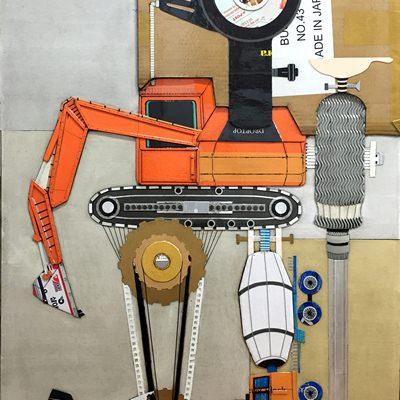 [A0292-0029] 불도저 Buldozer