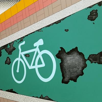 [A0298-0002] 자전거 도로