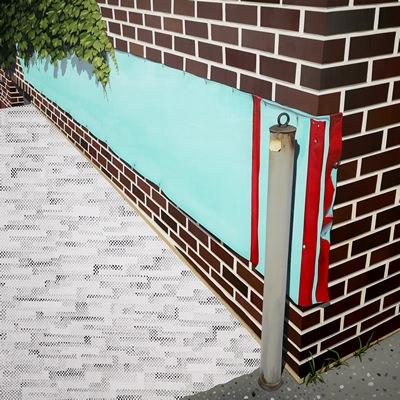 [A0298-0005] 덩굴이 있는 벽