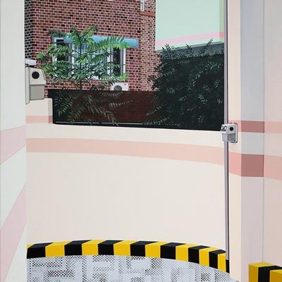 [A0298-0017] 여름 주차장(부제:다른 시간)