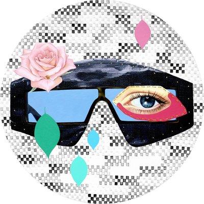 [A0298-0076] 비닐 안경