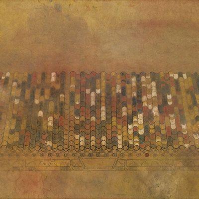 [A0300-0031] 천년만세(千年萬歲) 오색기와(五色瓦)