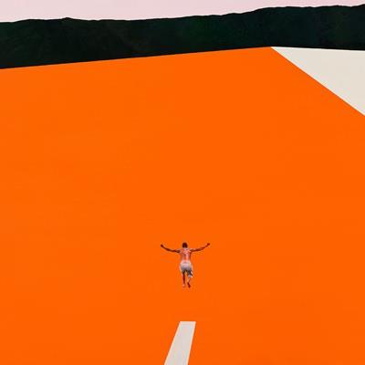 [A0306-0014] orange jump