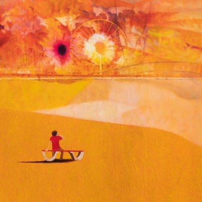 [A0307-0020] 오렌지빛 풍경