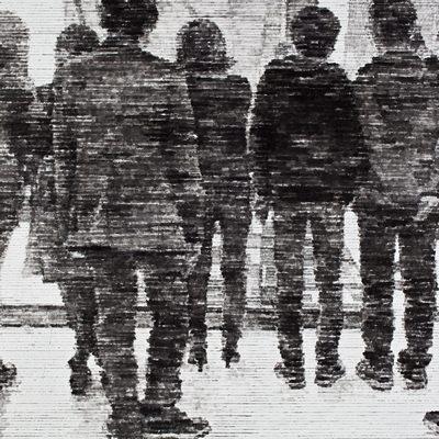 [A0312-0007] 단체관람團體觀覽 Attending in a body