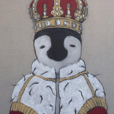 [A0321-0031] 왕이 된 펭귄