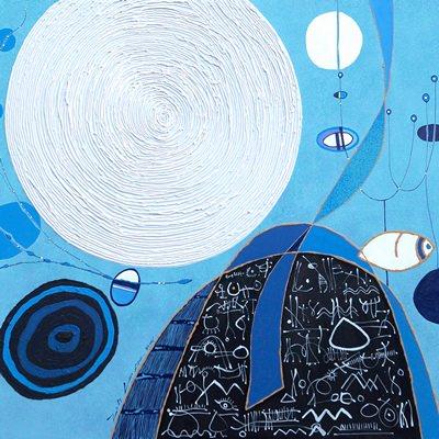 [A0337-0035] 고도를 기다리며-해(海)와 달(月)