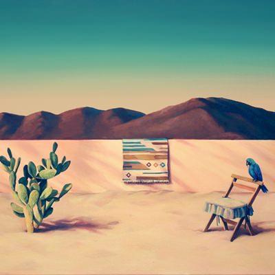 [A0345-0029] 산과 사막의 앵무새