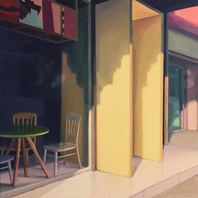 [A0345-0044] 기다림-카페