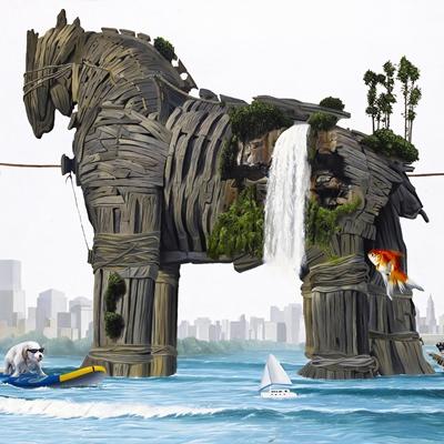 [A0347-0006] Trojan horse-전리품과 휴가를…