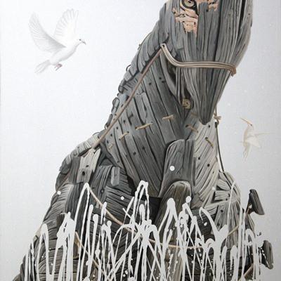 [A0347-0007] Trojan horse-거짓된 평화
