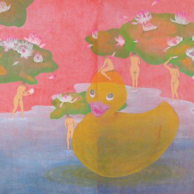 [A0360-0003] Dreamy Lotus Pond