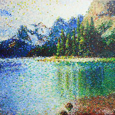 [A0365-0020] 박제된풍경_Maligne lake