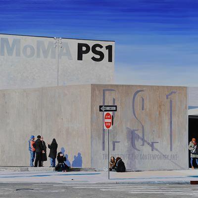 [A0371-0039] 익숙한풍경 - MOMA PS1의 아침
