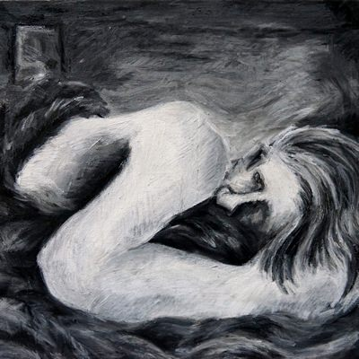 [A0378-0006] 울고있는 여자