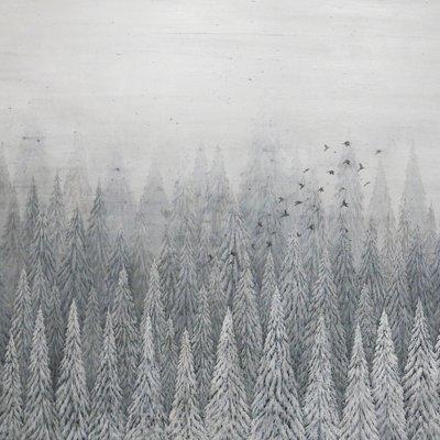 [A0379-0032] 새를 쫓는 정원사