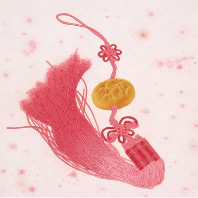 [A0397-0011] 마가렛트 나비매듭 노리개(행복한 과자)