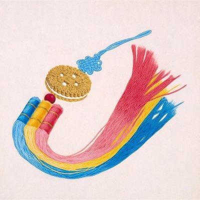 [A0397-0012] 국희샌드 옥 노리개(행복한 과자)