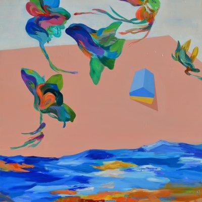 [A0405-0009] 날고 싶은 물위의 꿈