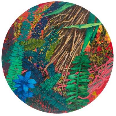 [A0405-0050] 정원의 깊숙한 곳-낮의 숲