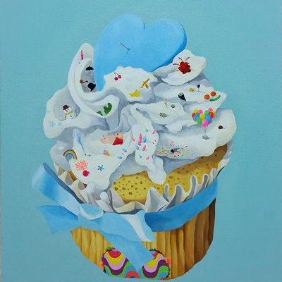 [A0420-0004] Cupcake 628