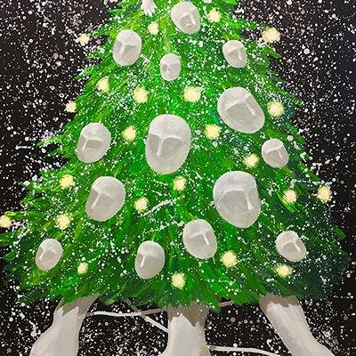 [A0428-0035] 크리스마스 트리