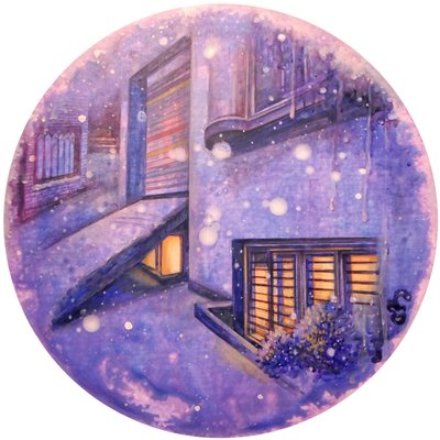 [A0429-0017] 겨울밤의 온기