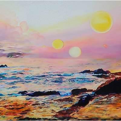 [A0433-0008] sunset