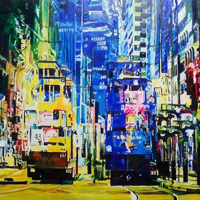 [A0433-0047] 홍콩트램