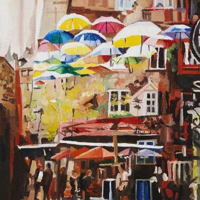 [A0433-0124] 우산거리