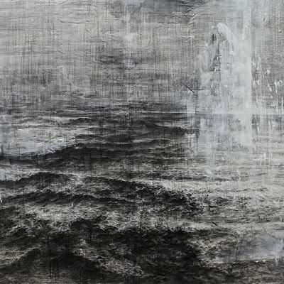 [A0438-0032] 폭풍우가몰려오는바다