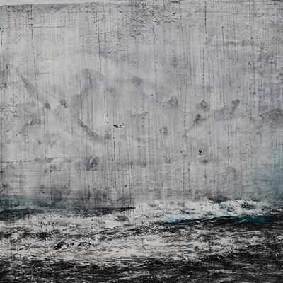[A0438-0033] 폭풍우가몰려오는바다
