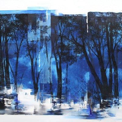 [A0438-0086] 숲의밤