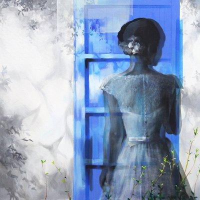 [A0438-0136] 파란문