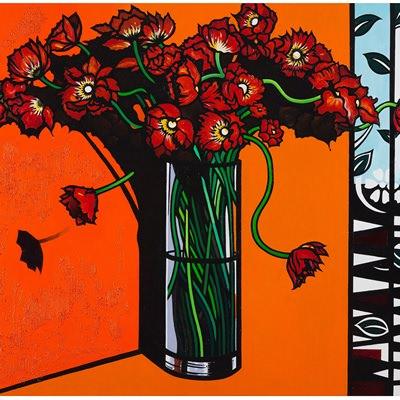 [A0442-0001] Flower No.1 (in orange room)