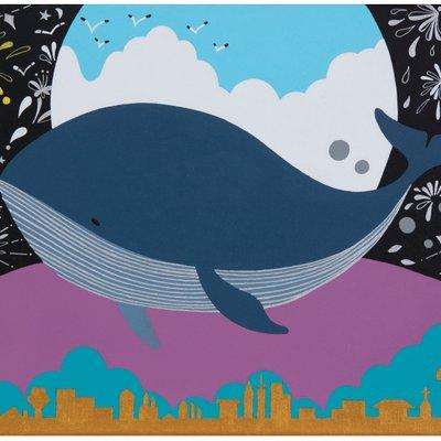 [A0442-0087] 꿈꾸는 고래 ( Dreaming whale)