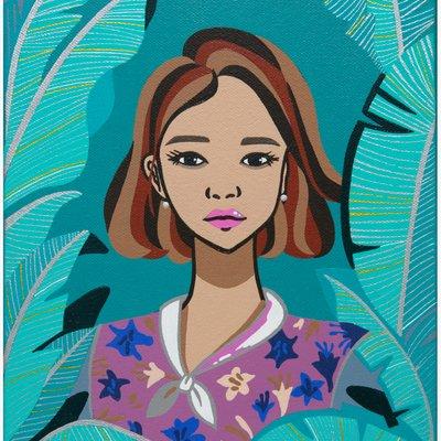 [A0442-0100] Secret Garden_Emotional Girl 비밀의 화원_감성 소녀