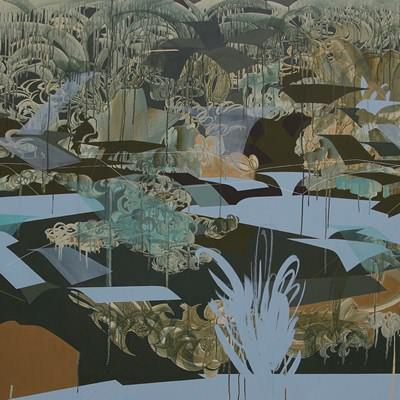[A0450-0004] organic landscape