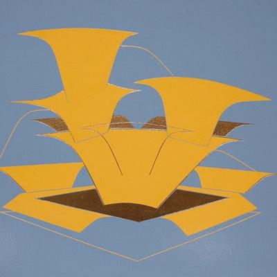 [A0450-0021] yellow  terrarium (ㅡ)